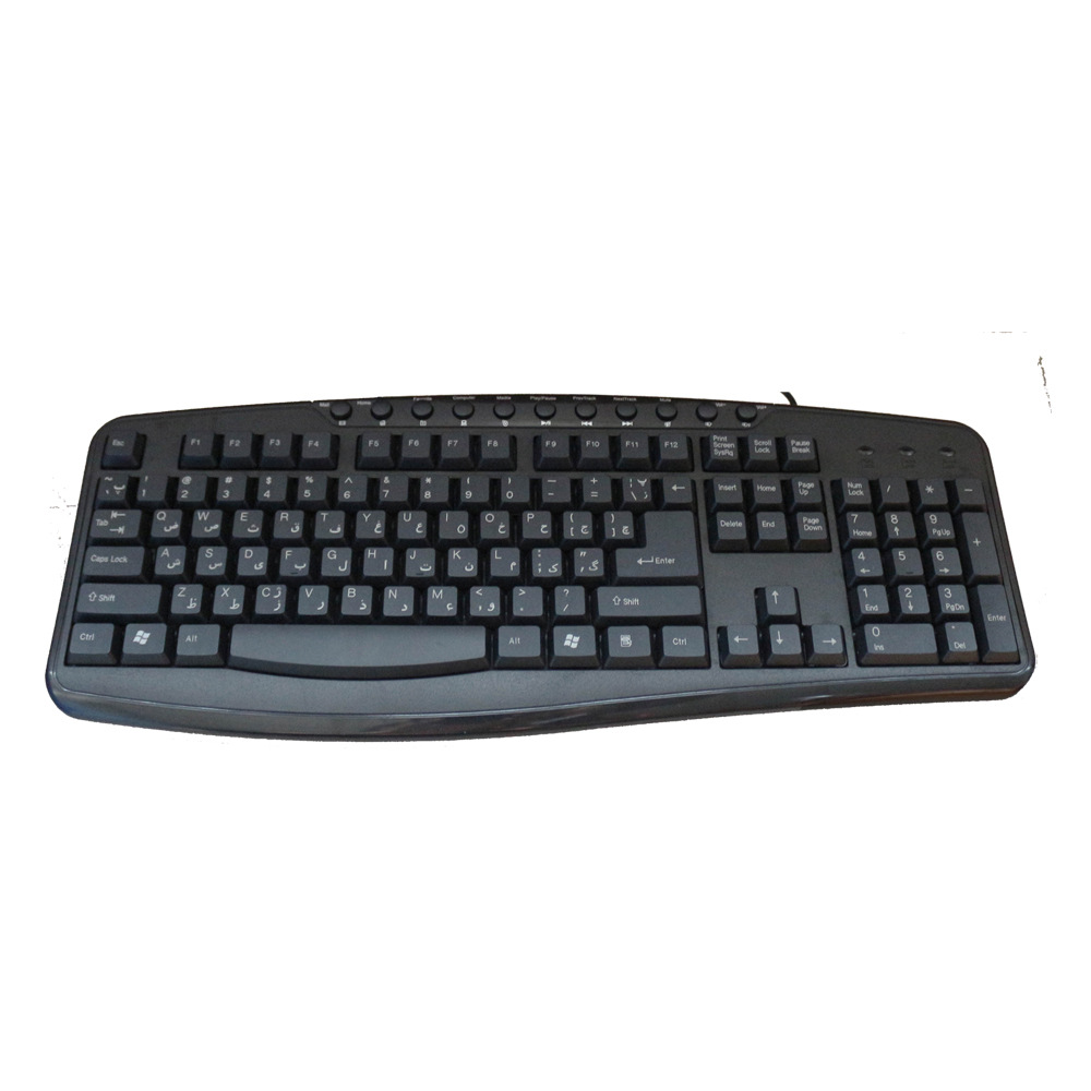 Multimedia Keyboard BK019M