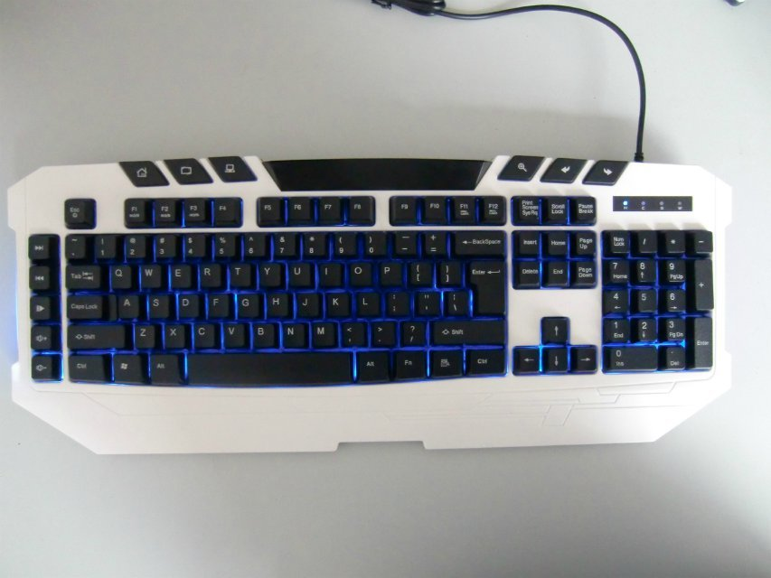 Backlit keyboard BK026