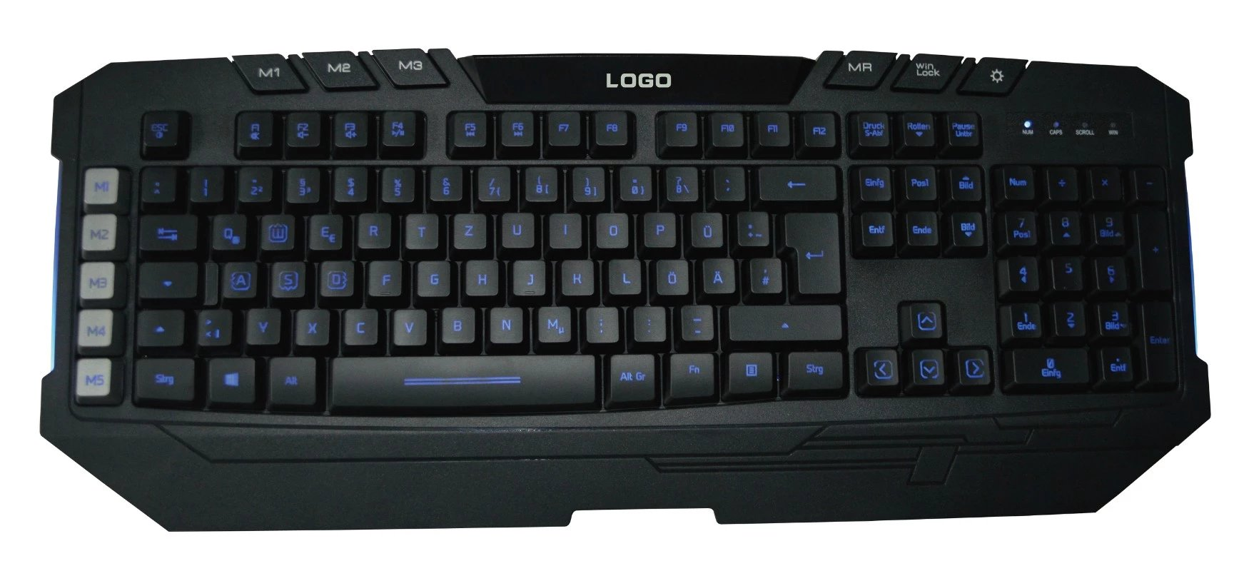 Backlit keyboard BK026B
