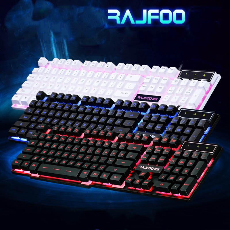 Multimedia backlit gaming keyboard KB008